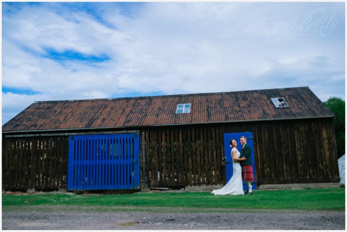 The Burn House Edzell Wedding 67