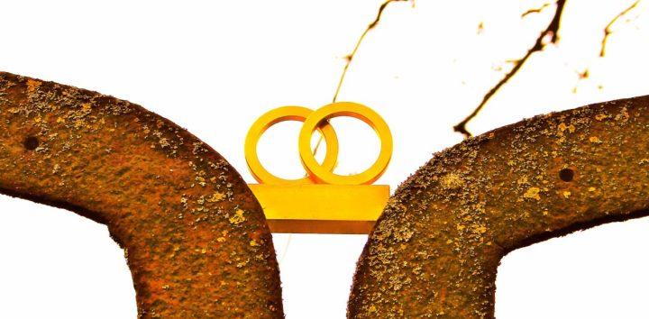 Gold und Eisen - In der Burg lässt sich so manches harmonisch miteinander verbinden...