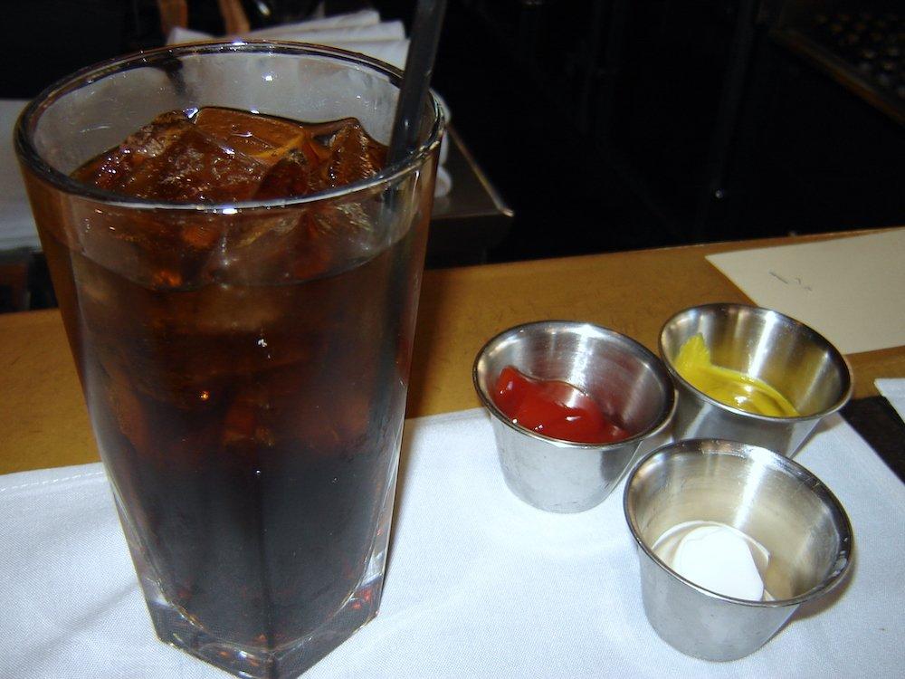 Houstons Ice Cold Coke