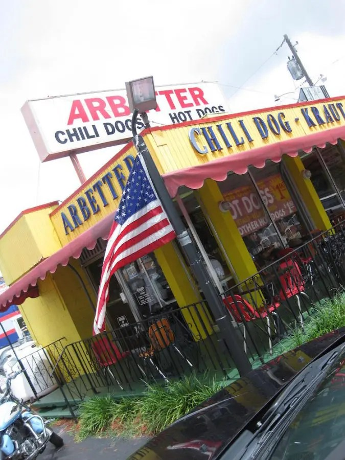 Arbetter Hot Dogs Building
