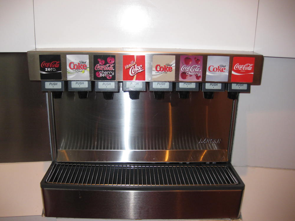 Coke Current Drinks Machine