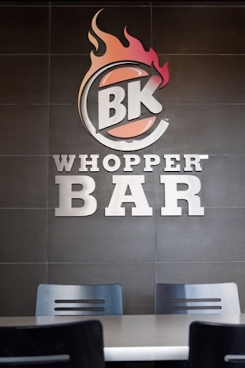 BK Whopper Bar in South Beach