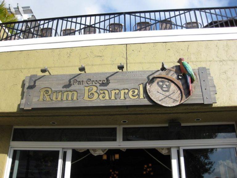 Pat Croce's Rum Barrel at Key West's Pirate Soul Museum