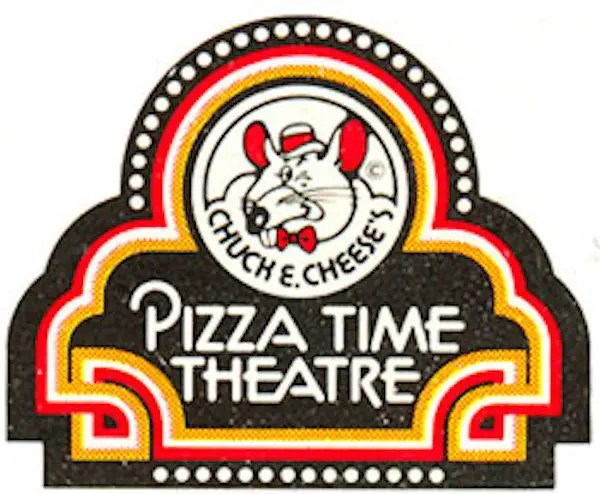 Chuck E Cheese Pizza Time Theatre Logo