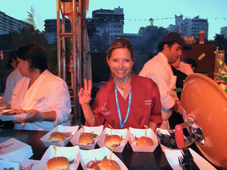 Ingrid Hoffman's Delicioso Latin Burger Recipe