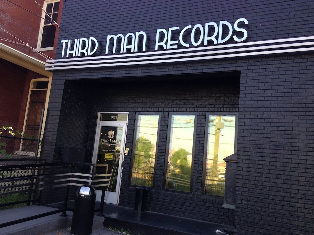 Third Man Records in Nashville, Tennessee