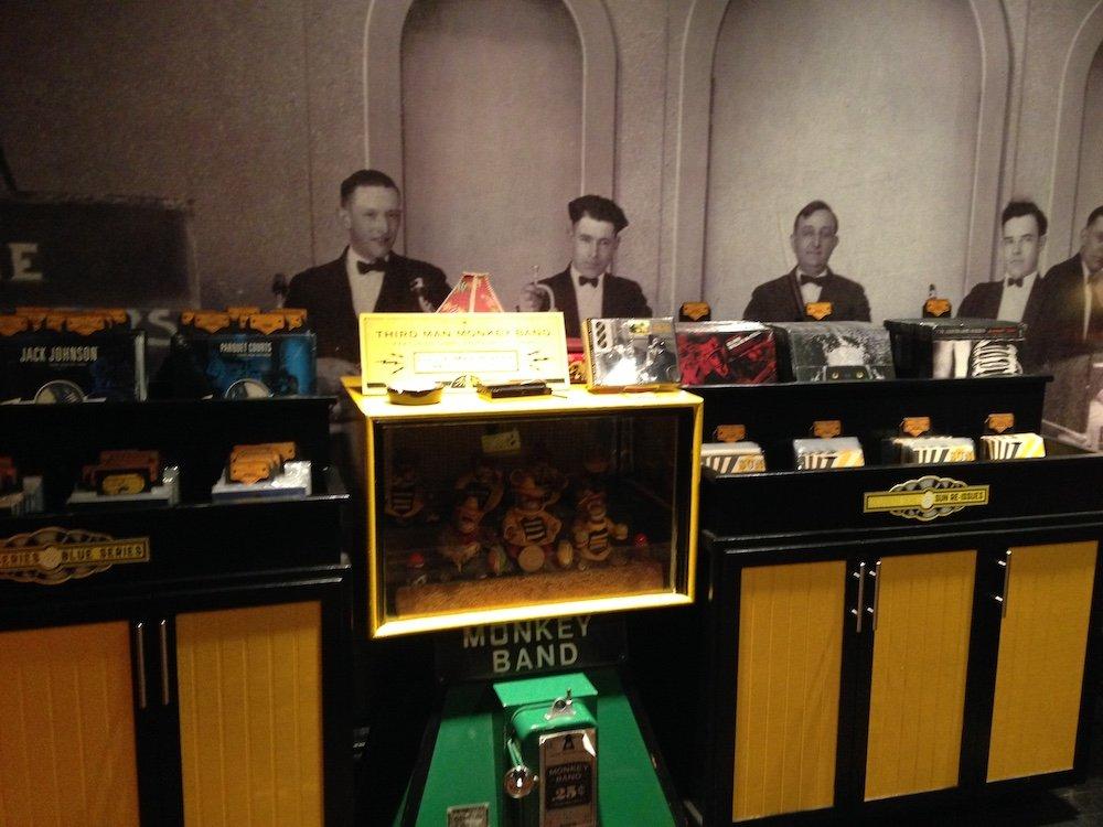 Bimbo Box Monkey Band Jukebox Arcade Automaton & Vinyl Records for Sale