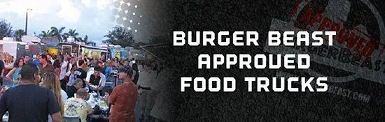 Burger Beast Approved Food Trucks