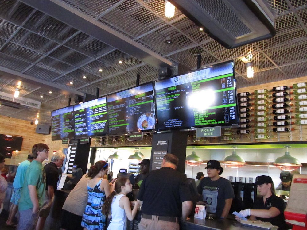 BurgerFi Order Counter