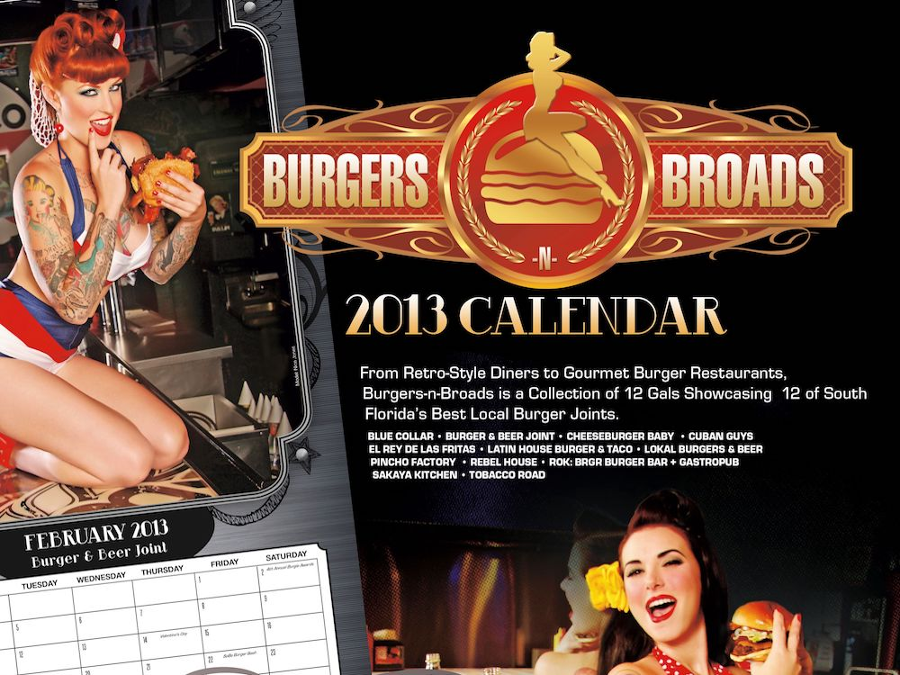 Burgers-n-Broads Calendar Header