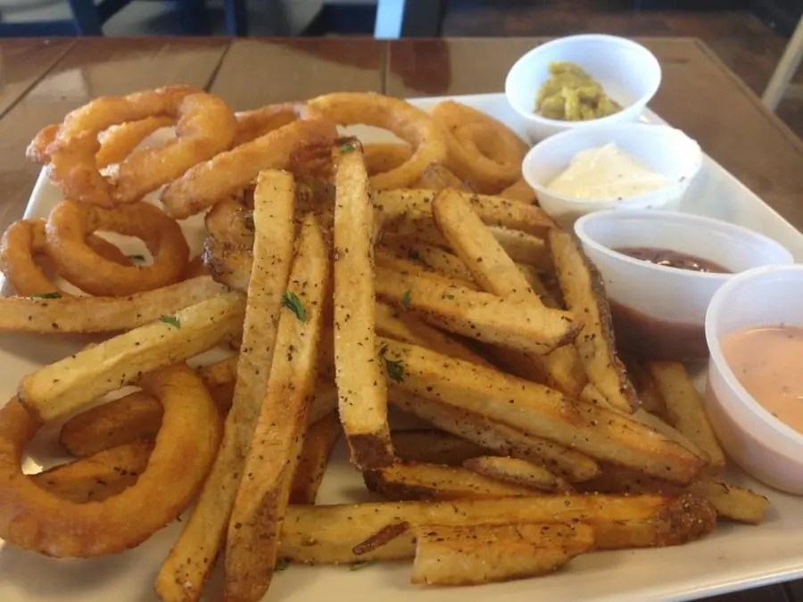 Hand-Cut Fries & Onion Rings