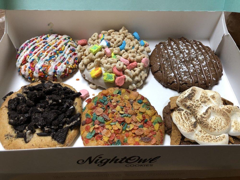 Night Owl Cookies Box of Cookies