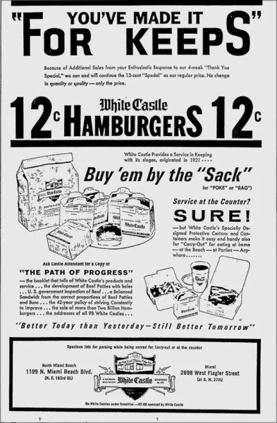 Ad from 2-28-63