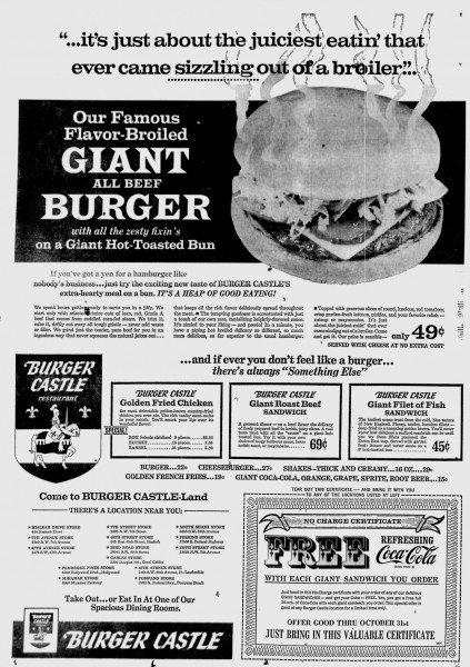 Miami News Ad - October 8th, 1968