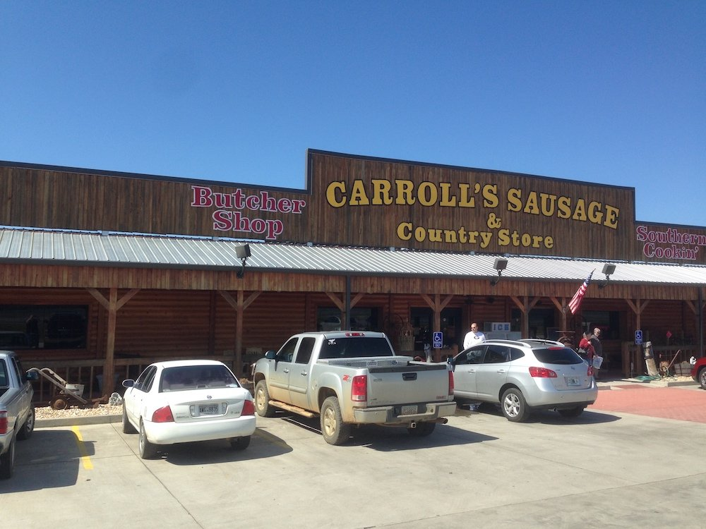 Carroll's Sausage & Country Store in Ashburn, Georgia