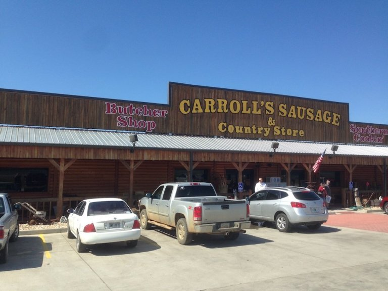 Meat nirvana at Carroll's Sausage & Country Store
