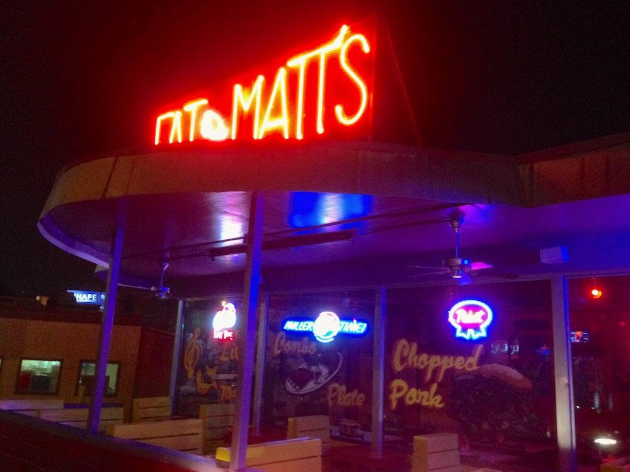 Fat Matt's Rib Shack in Atlanta, Georgia