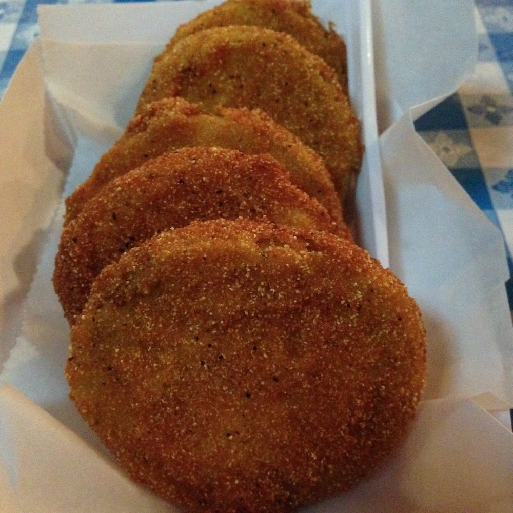 Five Fried Green Tomatoes