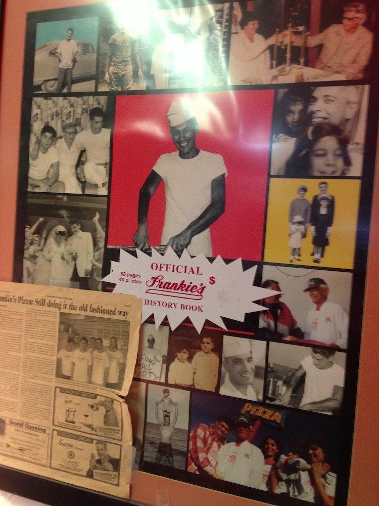 Frankie's Pizza Poster