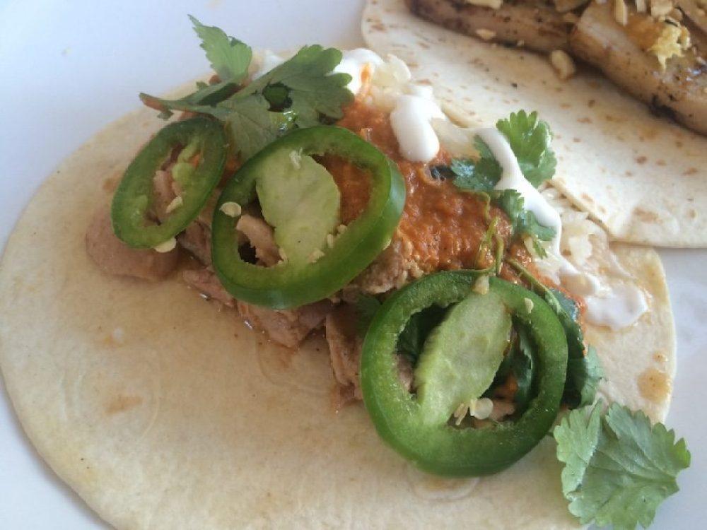 Butter Chicken Taco