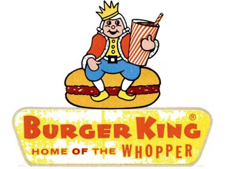 Burger King Logo from 1955 - 1968