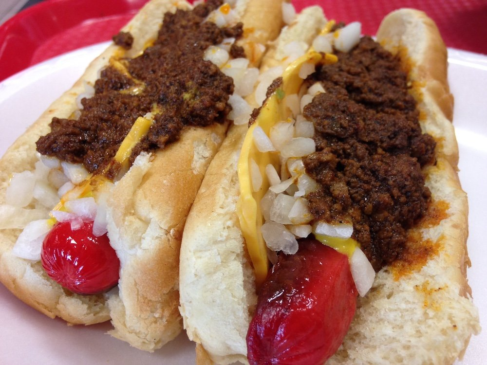 Nu-Way Weiners Chili Cheese Dogs
