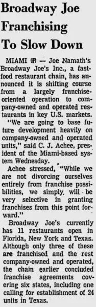 Article from The Evening Independent - May 21st, 1970