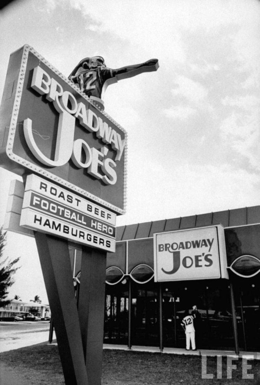 Broadway Joes pic by Lynn Pelham of Life Magazine
