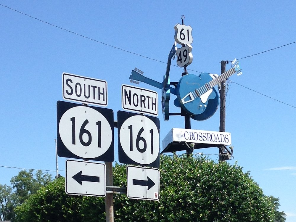 The Crossroads in Clarksdale, Mississippi
