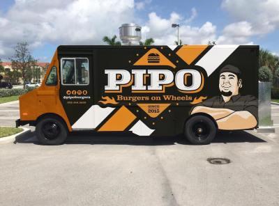 Pipo Burgers on Wheels Food Truck