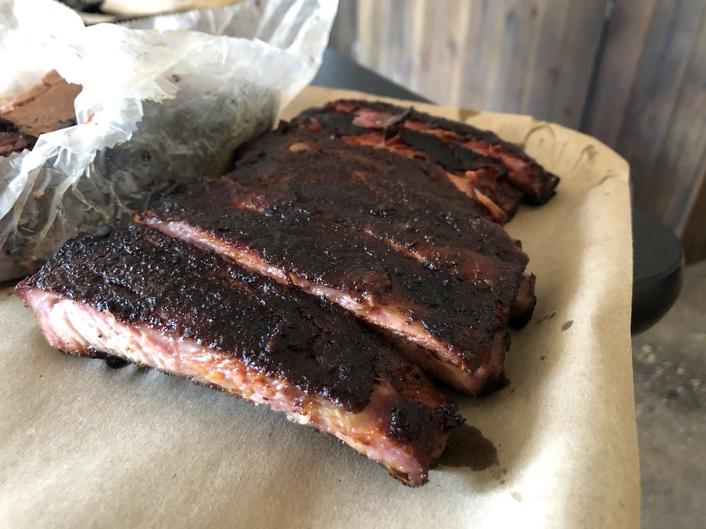 Smoke BBQ Spare Ribs