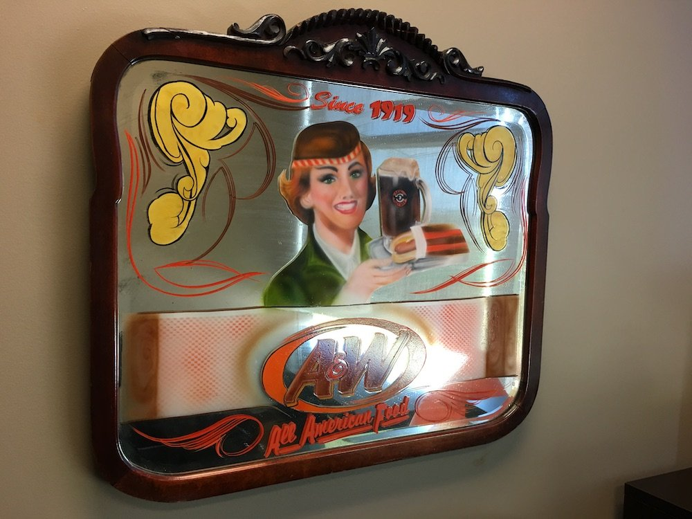A&W Branded Mirror