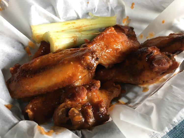 Smoked Hot Wings
