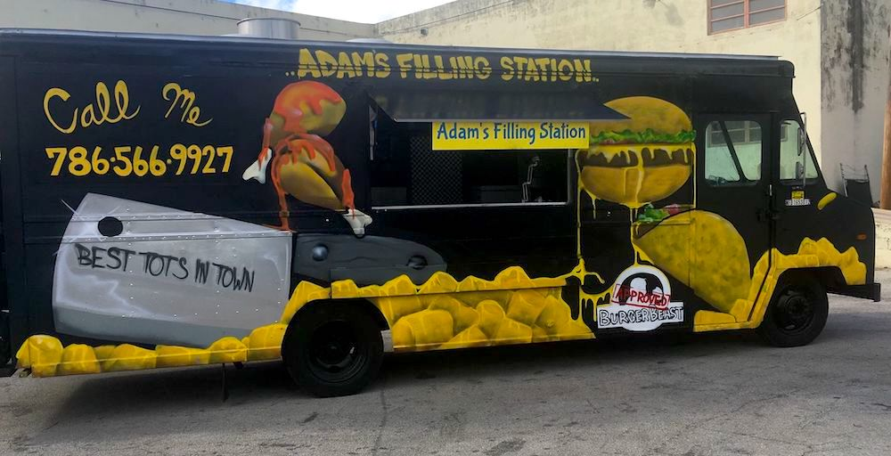 Adam's Filling Station on Wheels