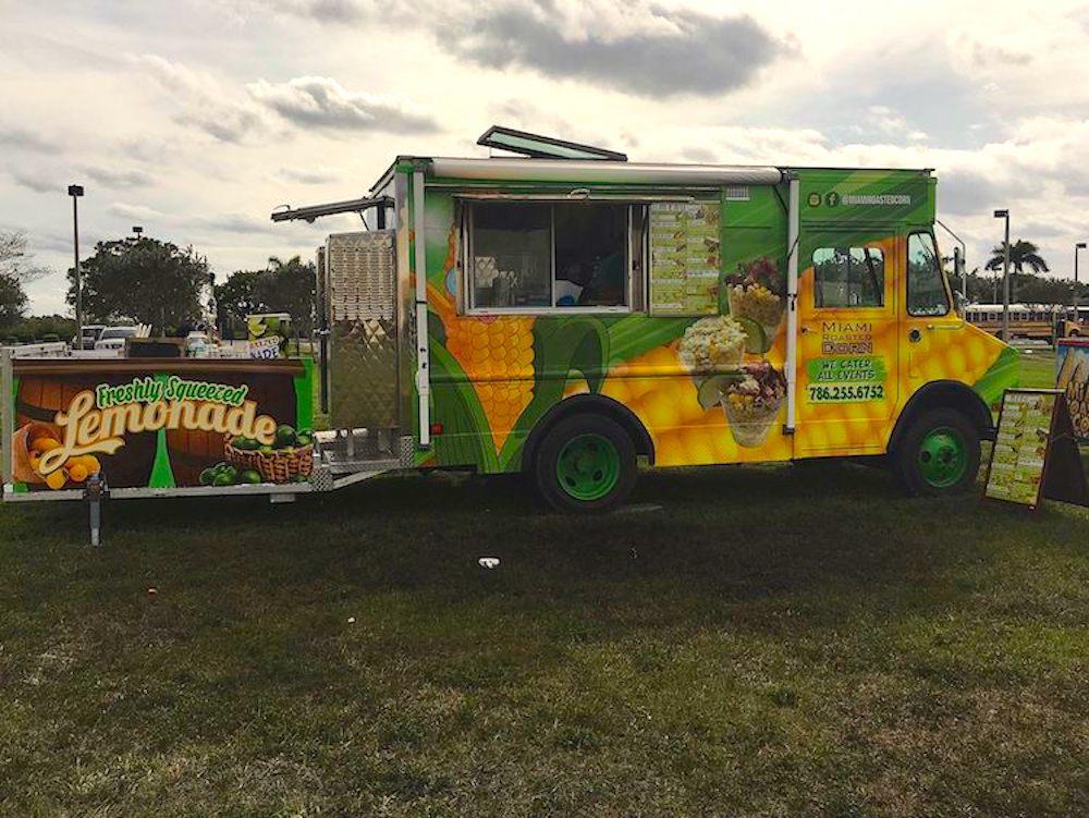 Miami Roasted Corn Food Truck