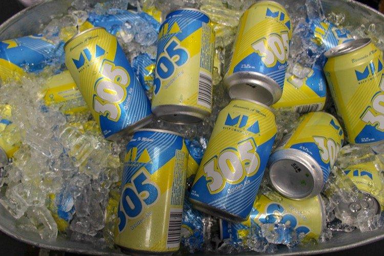 MIA Beer 305 Golden Ale