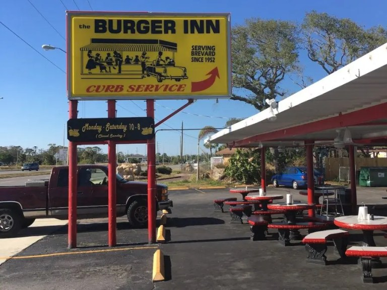 Melbourne's Burger Inn Drive-In with Curb Service since 1952