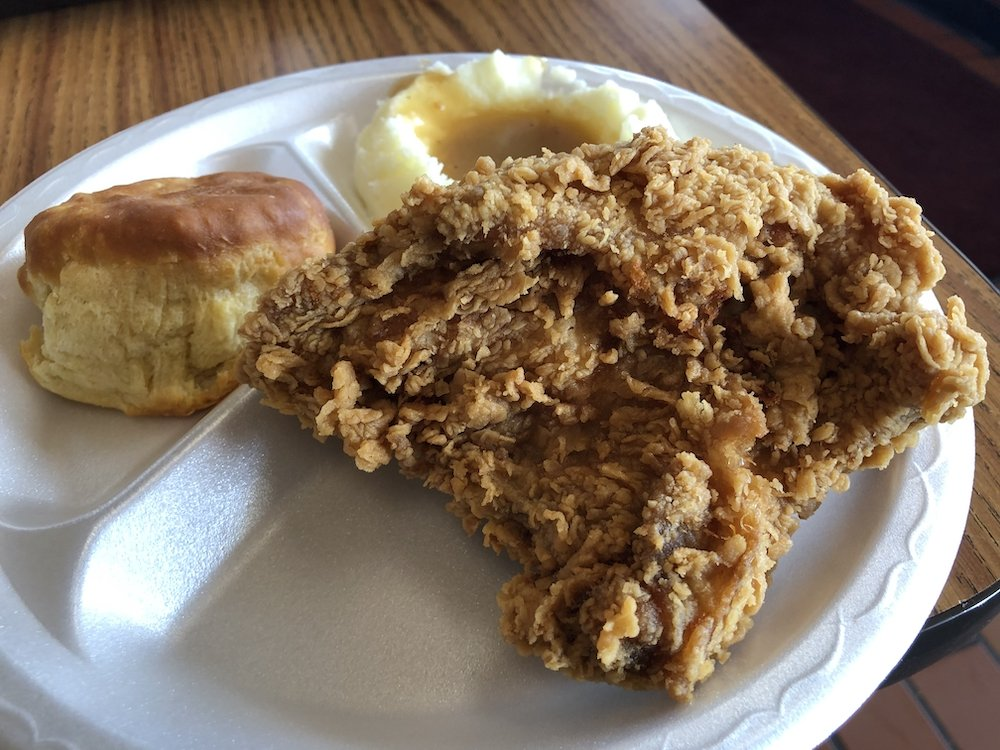 Lee's Famous Recipe Fried Chicken
