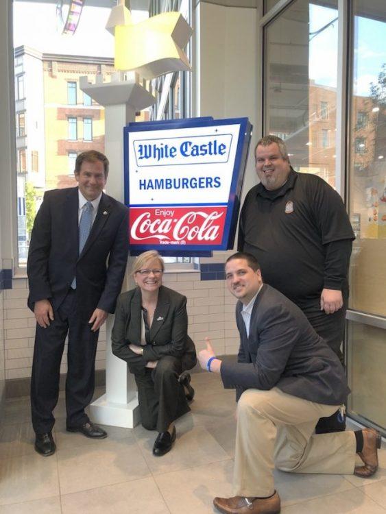 Jamie, Burger Beast, Shawn and Theresa