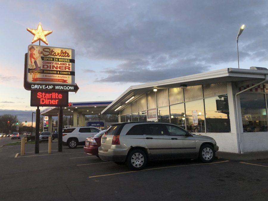 Starlite Diner in Lansing, Michigan Sign
