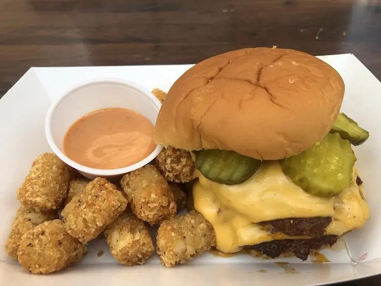 NFA Burger w/Tots - Dunwoody, Georgia