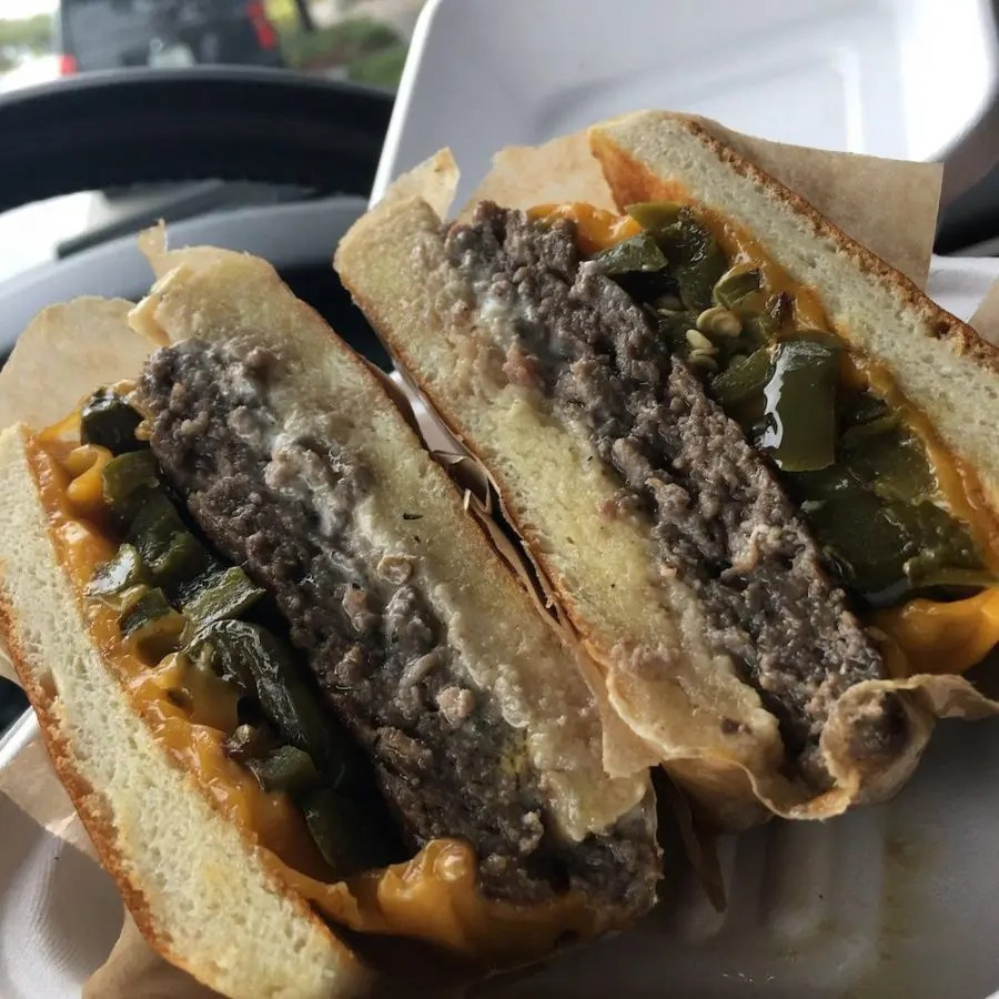 Proper Sausages Jalapeño Cheddar Burger