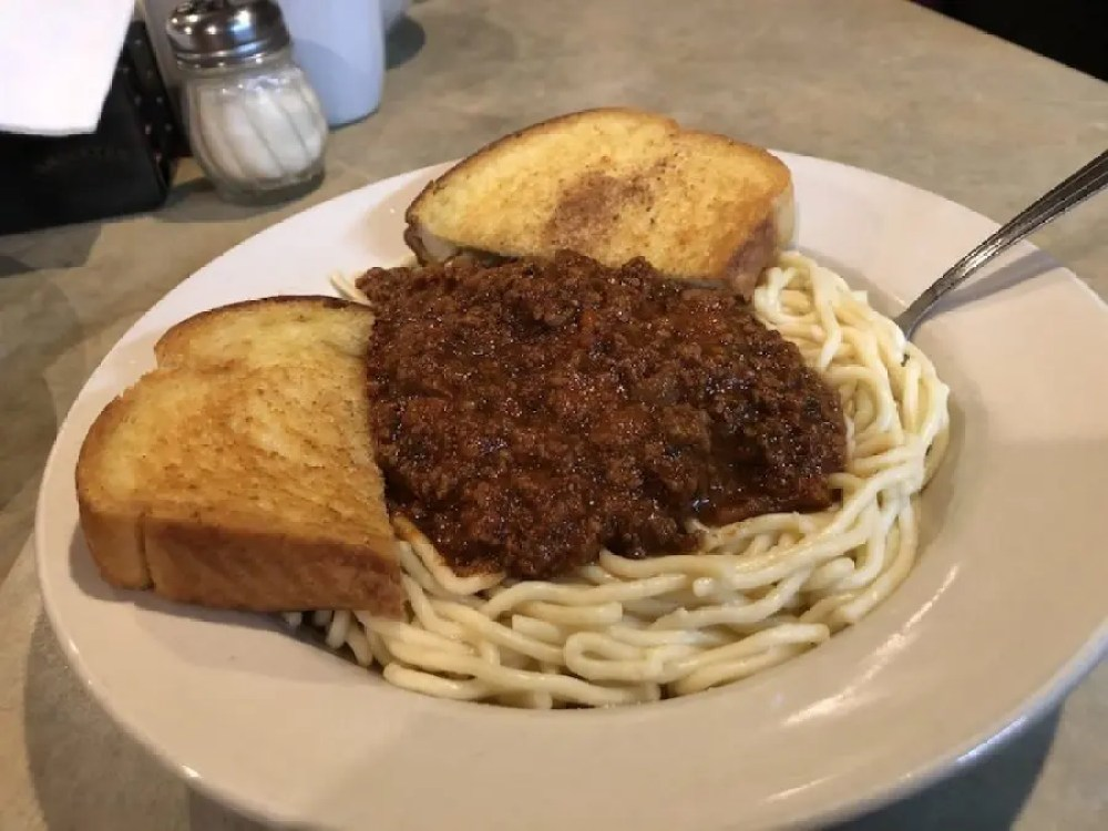 Diner Specials Spaghetti with Meat Sauce
