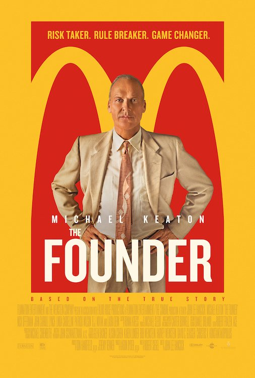 Movie Poster for the film The Founder with Michael Keaton