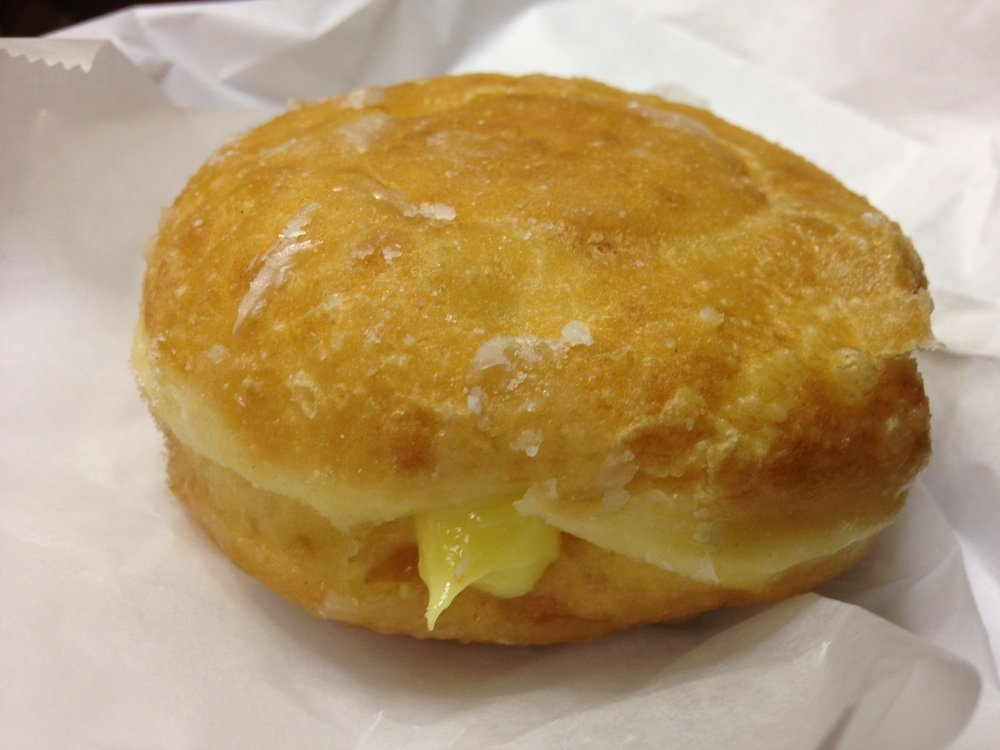 Bavarian Cream Donut
