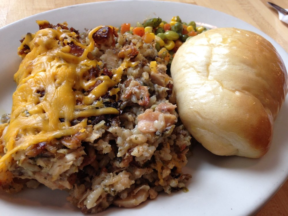 Daily Special – Gourmet Chicken & Rice Casserole