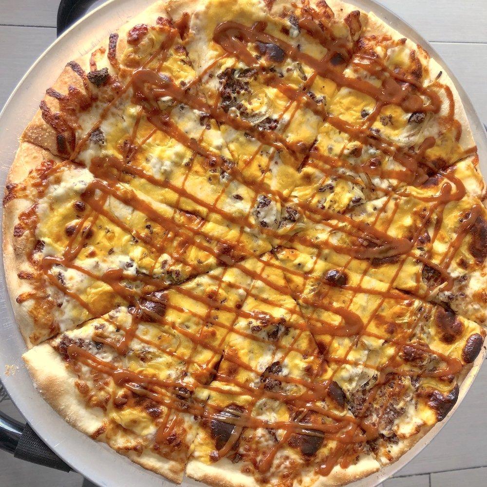 Magic City Pizza Cheeseburger Pizza