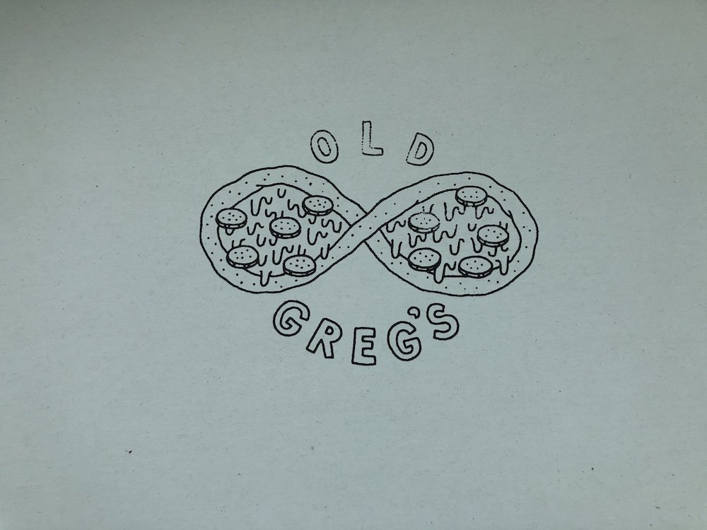 Old Greg's Pizza Box