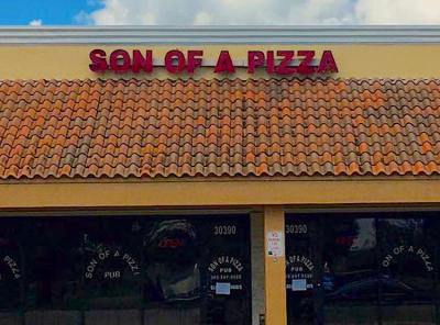 Son of a Pizza in Homestead has a Patty Melt