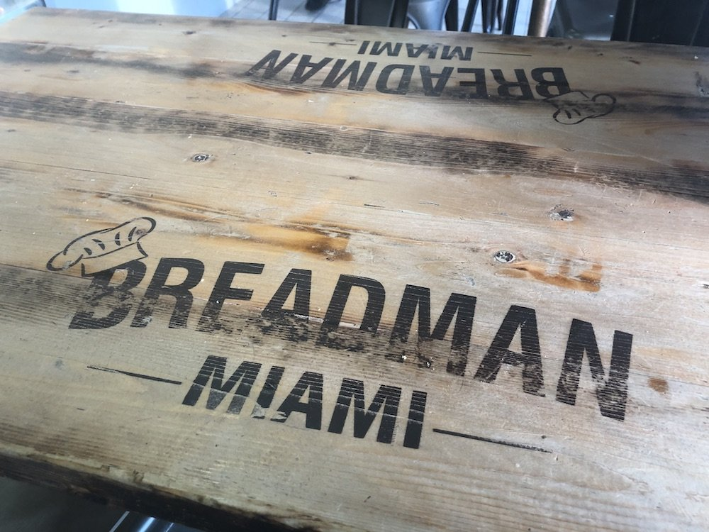 Breadman Bakery Table